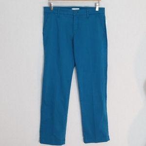 Lila  Ryan pants Size 8 blue crop NWT